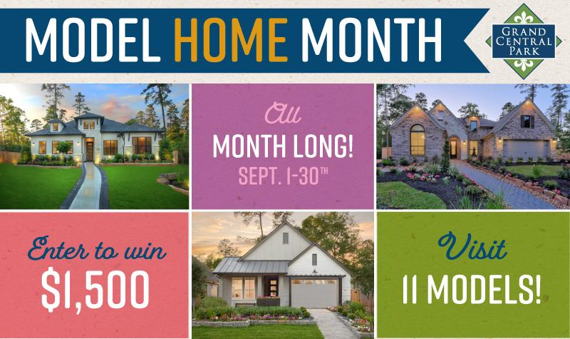 Model Home Month Is Happening Now!