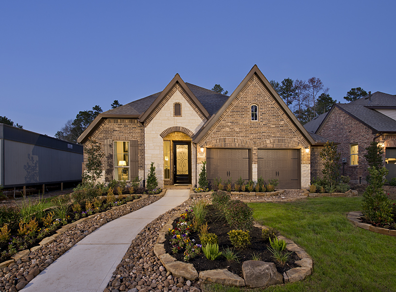 Perry Homes Grand Central Park In Conroe Tx